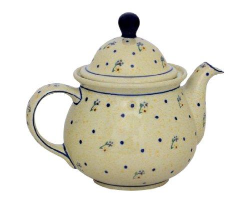 Original Bunzlauer Keramik Kaffeekanne 1,70 Liter im Dekor 111