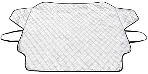 HEHUI Car Windshield Snow Cover,Car Windshield Snow Ice Cover with 4 Layers...