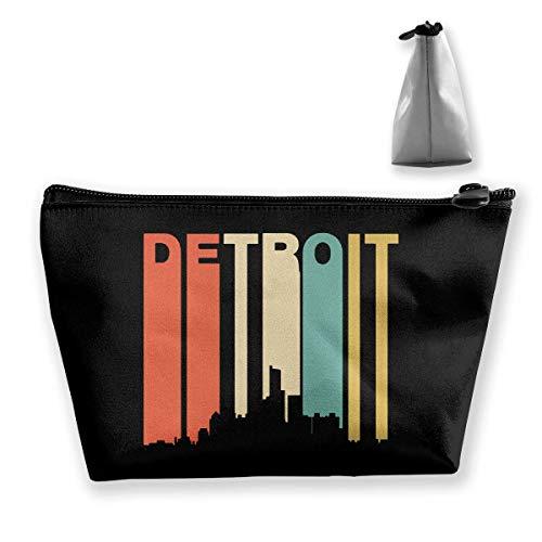 Detroit Sac de rangement portable pour maquillage Grande capacité Sac de voyage