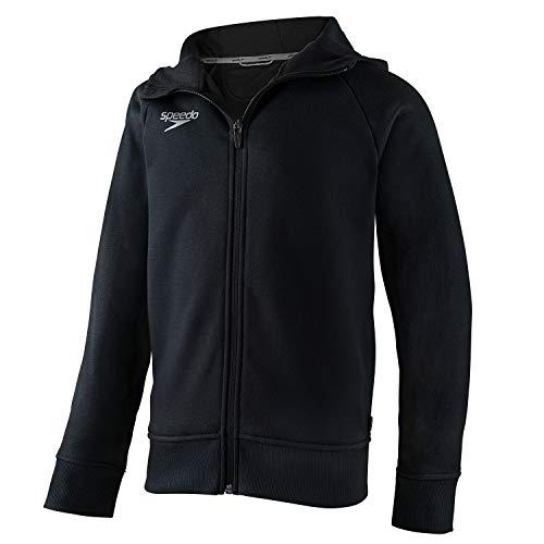 Speedo Unisex-Youth Sweatshirt Full Zip Hooded Jacket Team Warm Up