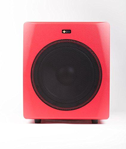Monkey Banana Gibbon 10s red Studio Subwoofer mit 10' Lautsprecher Farbe: rot