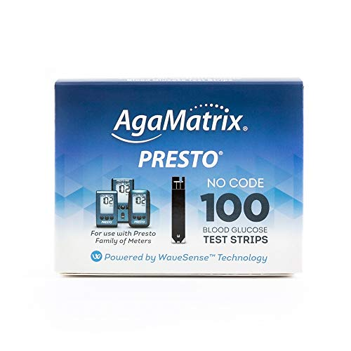 WaveSense Presto Test Strips, 100 Count Box