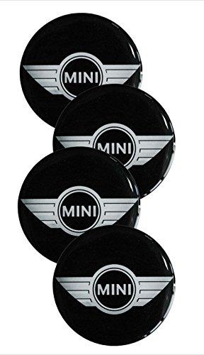 Mini ★4 Stück★ 60mm Aufkleber Emblem für Felgen Nabendeckel Radkappen