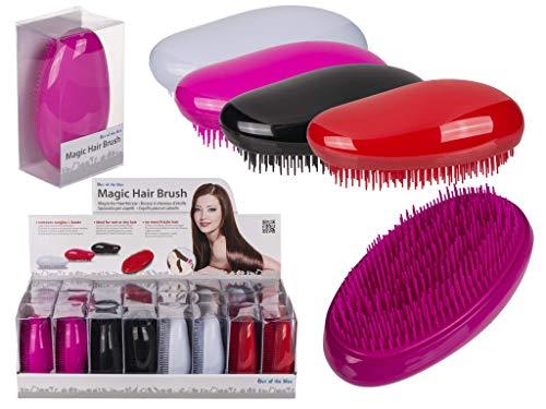 Brosse à cheveux d'étrille - Magic - Coloris divers