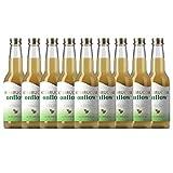 Te Kombucha bebida energetica kombucha scoby probióticos intestinales sin azucar añadido ecológico fermentado / botellas de kombucha Onflow (Té Verde, PACK DE 9 BOTELLAS)