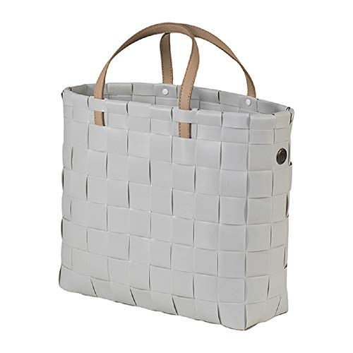 Handed By - Shopper/Einkaufstasche/Tasche - Petite - grau - 27 x 31 x 10 cm