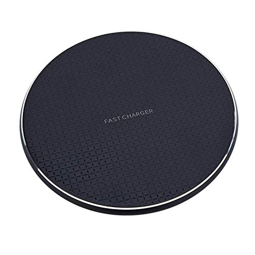 Yoging - Cargador rápido inalámbrico (10 W, para iPhone 11, 12 x XR XS - Amsung - Xiao-mi - Hua-wei)