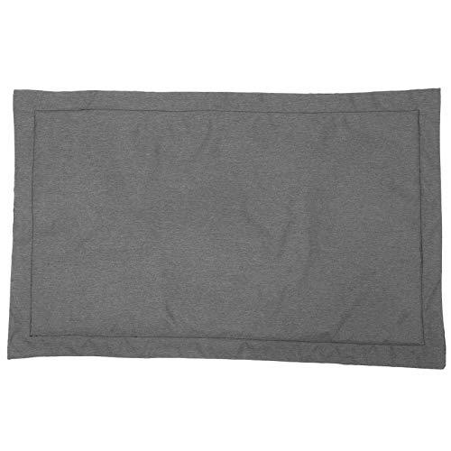 Cosiki Colchoneta para Dormir, Cama para Mascotas Anti-mordidas Lavable de poliéster catiónico, colchoneta de algodón con Relleno de PP para Cachorros,(Dark Gray, XL)