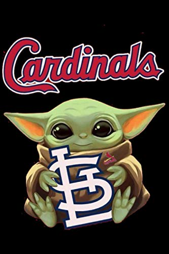 Baby Yoda Hug The St Louis Cardinals Sport Notebook Weekly Planner Notebook Journal