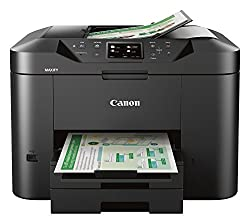 Canon Office and Business MB2720 Wireless All-in-one Printer, Scanner, Copier and Fax with Mobile and Duplex Printing