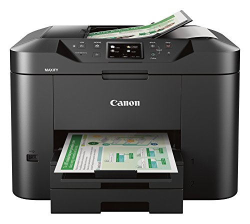 Canon Office and Business MB2720 Wireless All-in-one Printer, Scanner, Copier and Fax with Mobile...