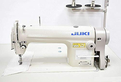 Industrial Sewing Machine Juki DDL-8100 Lockstitch Servo Motor + Table Stand Cut Juki DDL8700 + LED Lamp+ Commercial Grade Sewing Machine