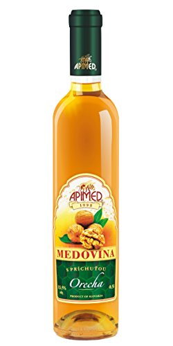 Slowakischer Met - Apimed Medovina Walnut - Honigwein mit Walnuss