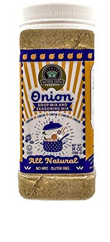 Onion Soup Mix and Seasoning Mix - No MSG, Gluten Free, All Natural - Kosher - 14 Oz (Single)