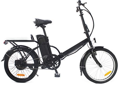 """i-Bike, BRERA 20"""" Unisex adulto, nero, unica"""