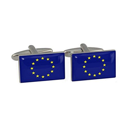 EU-FLAGGE Manschettenknöpfe