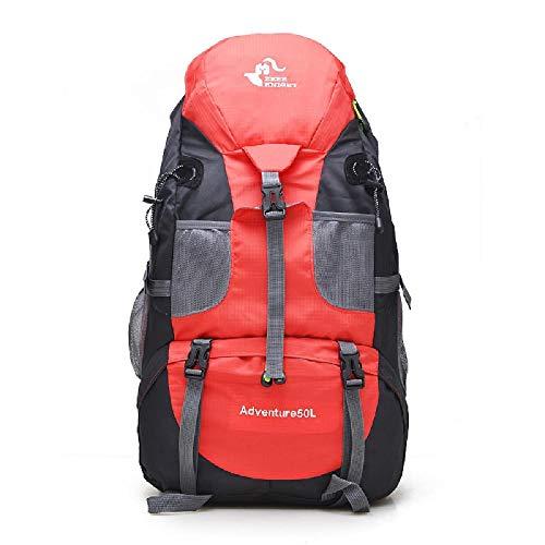U/A Hiking Backpacks, Unisex Waterproof Trekking Backpack, Outdoor Sport Cycling Mountain Climbing Bags