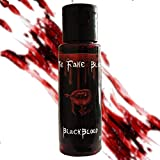 💯REALISTIC THEATRICAL QUALITY : Blackblood fake blood features an incredibly rich vibrant blood red color that looks and flows like the real blood. It is great for creating frightfully realistic special effects. 🤔HOW TO APPLY : Our Blackblood Fakeblo...