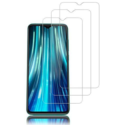 Hanbee Cristal Templado Xiaomi Redmi Note 8 Pro 3 Unidades,