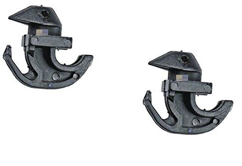 2x ORIGINAL Bosch Siemens Befestigung Haken Deckel Waschmaschine 00167581