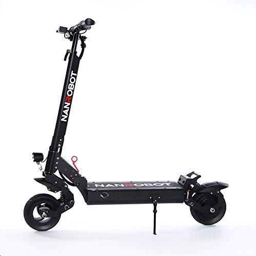 NANROBOT X6 Adult Commuter - Portable Folding Electric Scooter, 500W Motor, Maximum Speed 24 mph, Maximum Driving Range 30 Miles + 8-inch Explosion-Proof Wheel (X6 Electric Scooter)