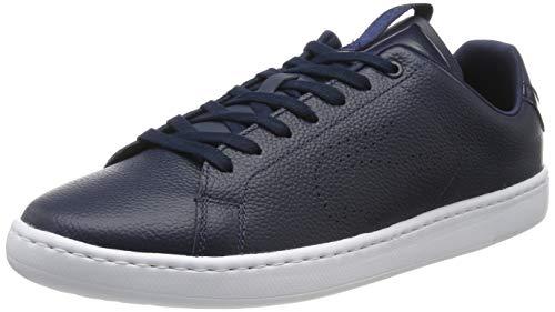 Lacoste Herren Carnaby Evo Light-wt 3191 SMA Sneaker, Blau (Navy/White 092), 44 EU