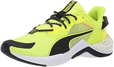 PUMA Men's Hybrid NX Sneaker, Yellow Alert White, 10.5 M US