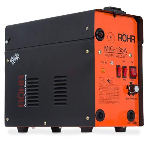 Röhr MIG-135A MIG Welder Inverter Gasless 135 Amp AC Anti-Stick MIG/MAG Welder