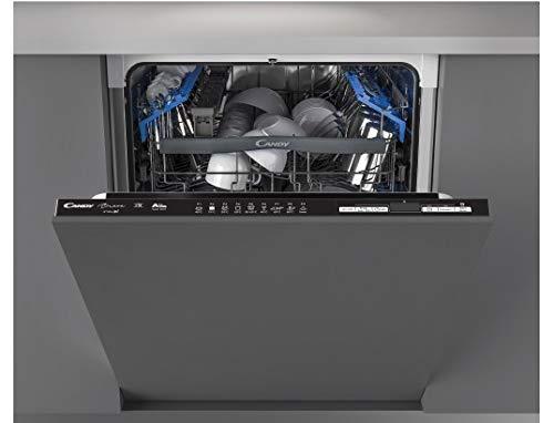 CANDY Lave vaisselle tout intégrable 60 cm CDIN2D520PB - 15 Couverts - Full intégrable -...