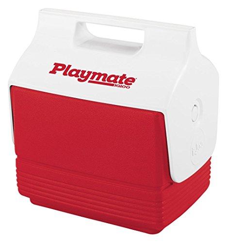 Igloo Mini Playmate Cooler , Red/White, 4 Qt