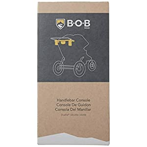 BOB Gear Handlebar Console for Duallie Jogging Strollers, Black