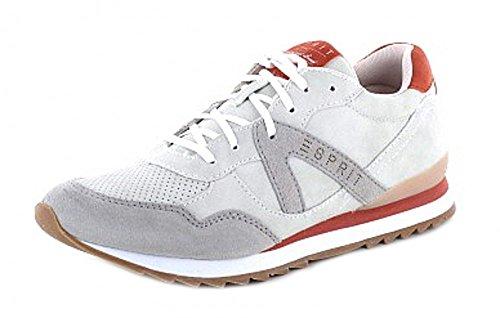 ESPRIT Damen Sneaker in Pastell Grau, Schuhgröße:37