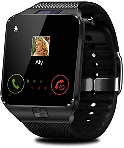 ArdillaDZ09 Smart Watch Bluetooth Smartwatch for Man, Woman, Boys, Girls and Compatible with All Mobile Phones - Black