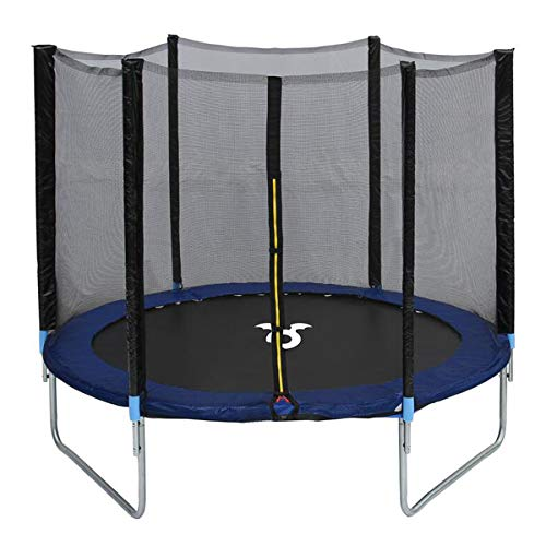 Charles Bentley Monster Children's 8ft Trampoline with Safety Net Enclosure