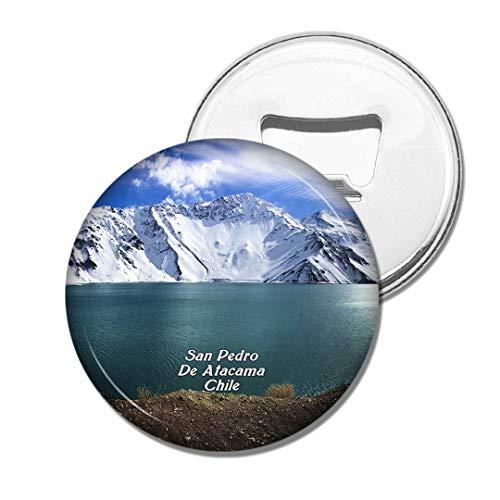 Weekino Chile Lagunas Miscantes et Miniques San Pedro De Atacama Bière Ouvre-Bouteille Aimant De Réfrigérateur Voyage Souvenir Autocollant de réfrigérateur Fort