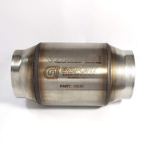 GESI G-Sport High Flow Catalytic Converter (2.5
