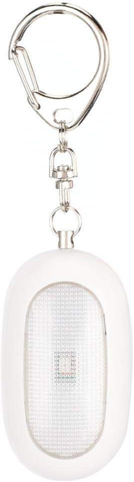 Black Emergency Alarm Self Defense LED Safety Alarm Keychain for Women Children Eldly Personal Safety Keychain