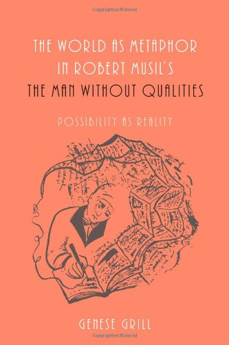 The World as Metaphor in Robert Musil's the Man Without Qualities: Possibility as Reality
