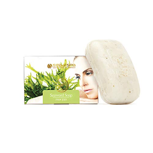 Anti-Cellulite Seaweed Soap, is rich in natural Dead Sea minerals and pure oils for optimum skin nourishment.