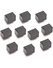 siwetg 10 stuks JRC-21F 4100 DC Mini Power Relay 6 Pin PCB Mount Circuit relais 3V 5V 12V