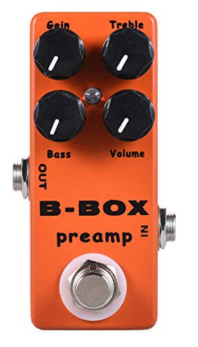 YMUZE Mosky Mini B-Box Preamp Pedal Electric Guitar Effect with Overdrive...