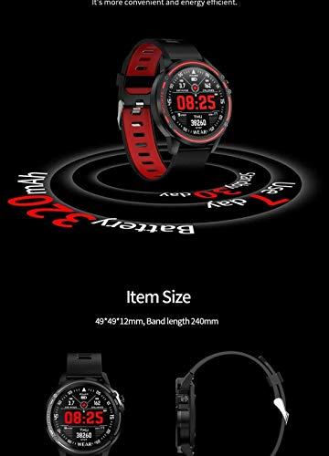 Para Huawei Mate 30E Pro P40 Mate 40 Pro Mate X 20 X Honor X10 Reloj Inteligente Hombres Presión Arterial Ritmo Cardíaco Deportes Fitness Relojes-Verde