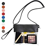 Best Clear Purses - Vorspack Clear Crossbody Purse Stadium Approved PU Leather Review