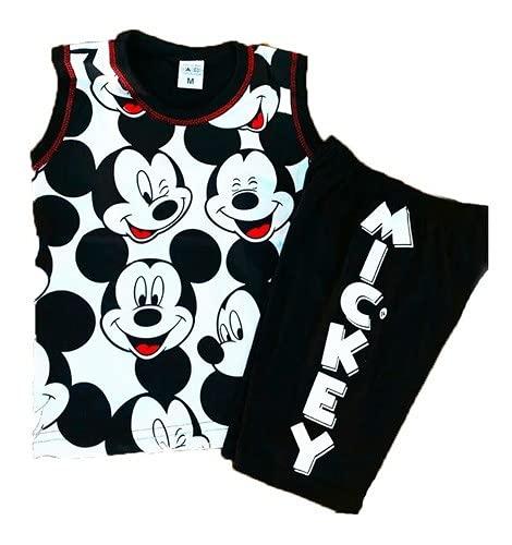 Conjunto Infantil Menino Disney Mickey Pluto Regata Tam 1 A7