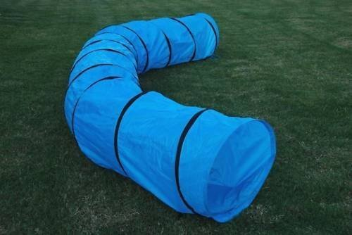 Lake Effect 18ft Dog Agility Training Tunnel