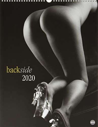 Backside Posterkalender. Wandkalender 2020. Monatskalendarium. Spiralbindung. Format 34 x 44 cm