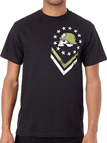 Metal Mulisha Men's Colony Short Sleeve T Shirt Black M