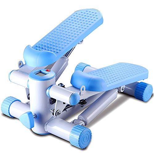 LANGYINH Mini Stepper Maschine Fitness Gerät,Einstellbare Höhe und WiderstandTrainingsgeräte für das Heimtraining,220lbs/100kg