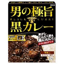 明治 男の極旨 黒カレー 180g×30箱入×(2ケース)