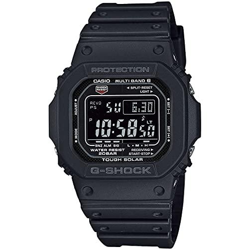 Casio G-Shock The Origin Digital Funk-Solar-Herrenuhr Schwarz GW-M5610U-1BER